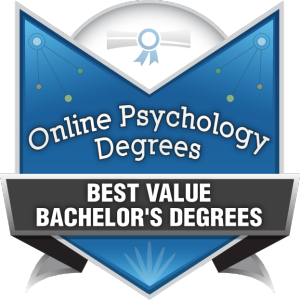 Badge - Online Psyc Degrees - Best Value Bachelor's Degrees