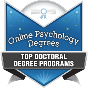 Badge - Online Psyc Degrees - Top Doctoral Degree Programs