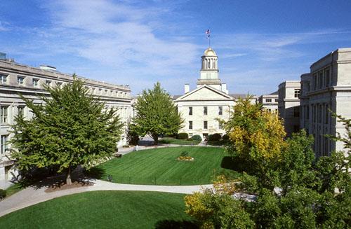 University of Iowa Top Public Ivy