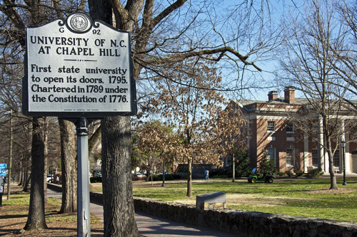 University of North Carolina Top Public Ivy