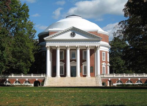 University of Virginia Top Public Ivy