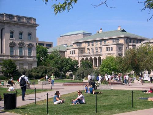 University of Wisconsin Top Public Ivy