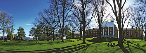 Amherst College Best Liberal Arts in Psychology