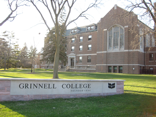 Grinnell College Best Liberal Arts in Psychology