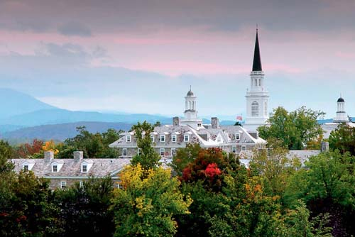 MIddlebury College Best Liberal Arts in Psychology