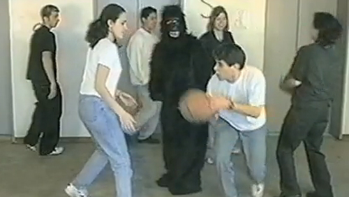 Invisible Gorilla Experiment